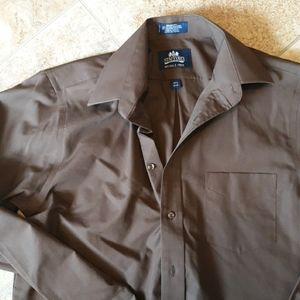 Cotton/Poly Stafford Dress Shirt